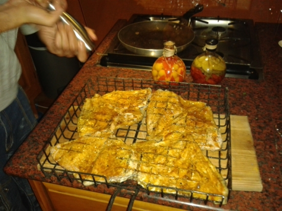 ... braaied to perfection, Angel Fish <3 Thanks to chef Rudy! ;)